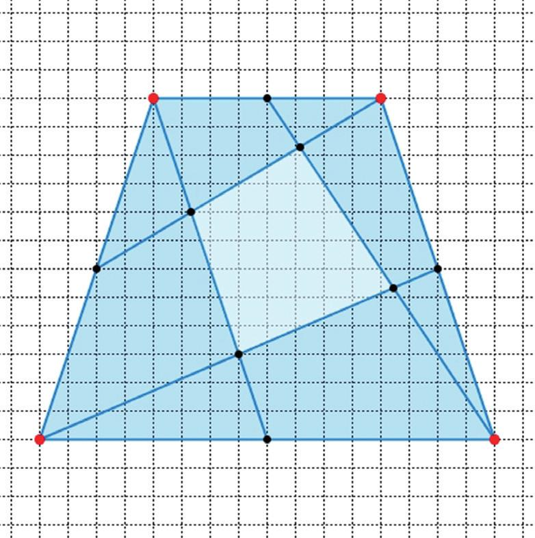 and the corresponding transversals can be changed. We demonstrate the method by using the example with the median lines.