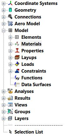 3.1 IMPORTANT ENTITIES Modeling composites can be easier if the following entities are carefully assigned.