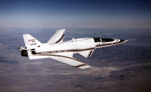 X-29 aircraft Photo courtesy of Structural Mechanics orporation http://structuralmechanics.