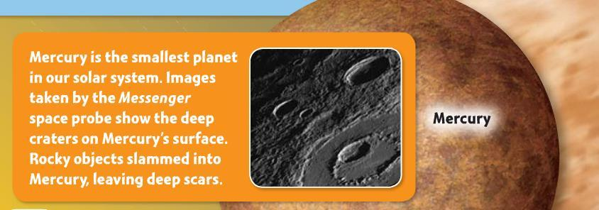 The Inside Track Inner planets are alike in some ways. 1.