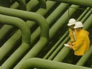 Pipes or piping systems It is not required to label portable containers into which hazardous materials are
