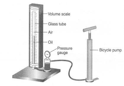 (c) Find the volume of the gas when pressure is 2.