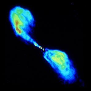 supermassive black hole at the centre.