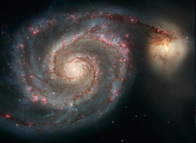 M 51 Distance ~31 Mly First object to be
