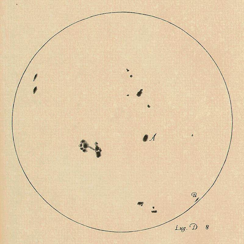 2) The Sun has spots on its surface The Sun is not perfect.