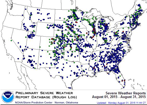 Climate Highlights Severe Weather Analysis All Event