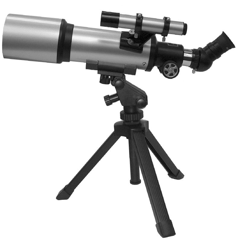 Meade 70mm Compact Refractor Telescope 1! 1) j ih gfc b 1@ 1# 1$ 1% 1^ d e 1& 1* 1( Fig. 1: Telescope Features 1. Eyepiece/ thumbscrew (not visible) 2. Eyepiece holder tube/ thumbscrew 3.