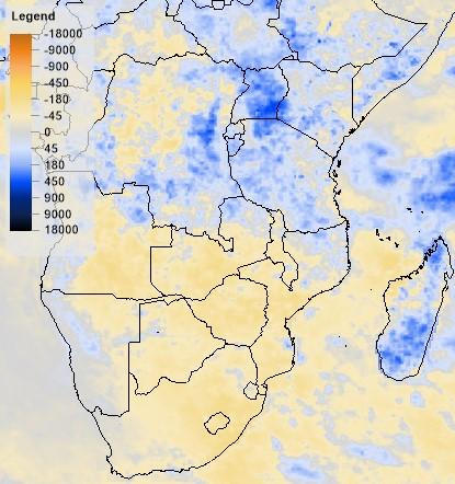 Eastern Africa, Dec 2015 (RFE2) Southern Africa, Dec 2015 (RFE2) Southern, Oct-Dec 2015 (RFE2) Drought Malawi: The agricultural season in Malawi lasts from November to the end of May.