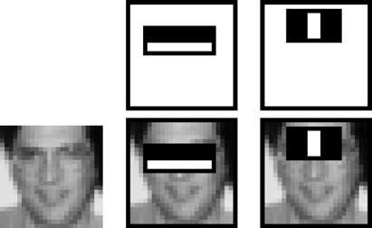 Face detectors via AdaBoost [Viola & Jones, 2001] Face detector architecture by Viola & Jones (2001): major achievement in computer vision; detector actually usable in real-time.