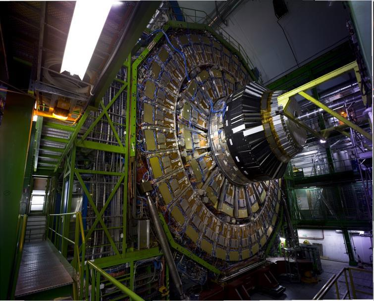 The Large Hadron Collider (LHC) can conduct experiments at