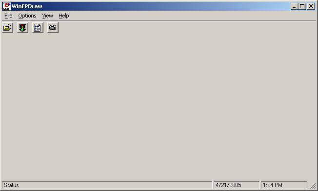 WinEPDraw Introduction WinEPDraw Introduction The WinEPDraw program is a simple utility that can be used to generate a dxf file from an input file without going entirely through the input scan for