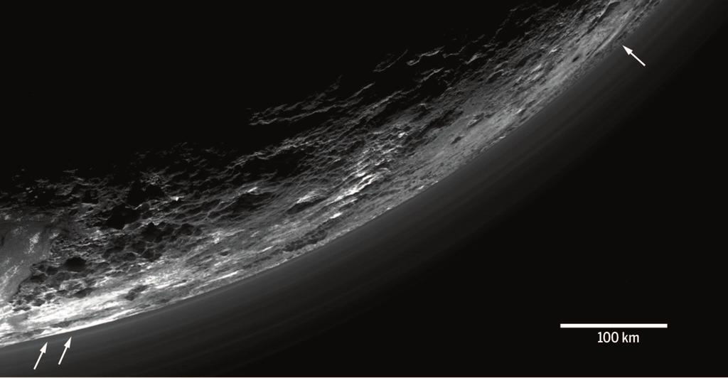 RESEARCH RESEARCH ARTICLE SUMMARY PLANETARY SCIENCE The atmosphere of Pluto as observed by New Horizons G. Randall Gladstone,* S. Alan Stern, Kimberly Ennico, Catherine B. Olkin, Harold A.
