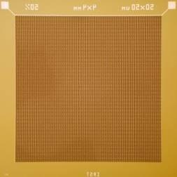 3x3mm 2 Arrays 1x4mm 2 1x4
