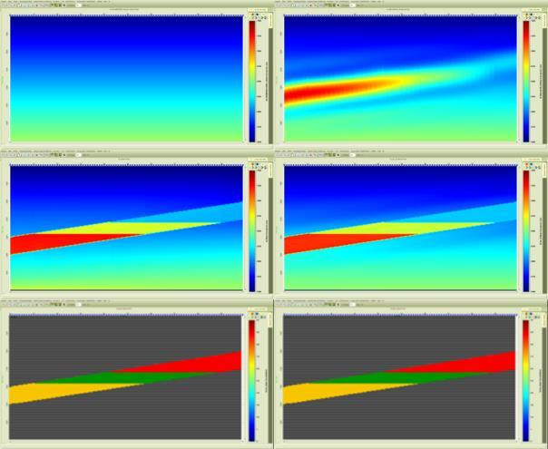 facies image. precise knowledge of the reservoir geometry and the presence and location of the saturating fluid types, along with the correct merge frequency for the model.