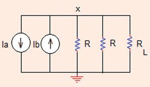 I 0 ¼ 3:75 A V 0 ¼ 4I 0 ¼ 4 3:75 ¼ 5 V (b) 3 þ ki 0 I 0 ¼ 0! I 0 ¼3=ðk Þ A; 0 k\: Problem..4 In the circuit shown in Fig.