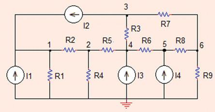 . Nodal Analysis 5 Fig..9 The circuit for Problem..9 Problem..9 In the circuit shown in Fig.