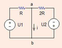 4 Analysis Methods mesh0 *OP ANALYSIS VU 335 R 0 R 305 *VCVS: Ex N+ N- NC+ NC- VALUE E 0 Problem.. (a) Determine the current i ab in the circuit shown in Fig..37.