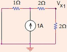 50 Analysis Methods Fig..7 The circuit after voltage source is killed Fig.
