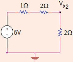 V x ¼ 0: ¼ 0:4V: Second, current source is open circuited (Fig..7).