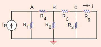 . Nodal Analysis 9 Fig..9 The circuit of Problem.