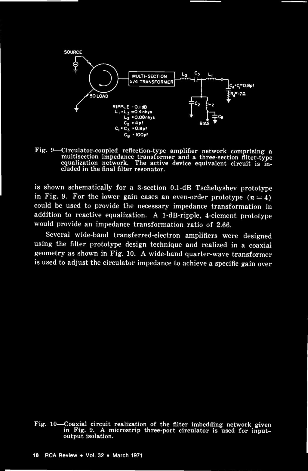 Review Mcbdo Contents March 1971 Volume 32 Number 1 Pdf Rc Timing Circuit Simulates An Developer Andrew Duffy The Active Device Equivalent Is Included In Final Filter Resonator Shown Schematically