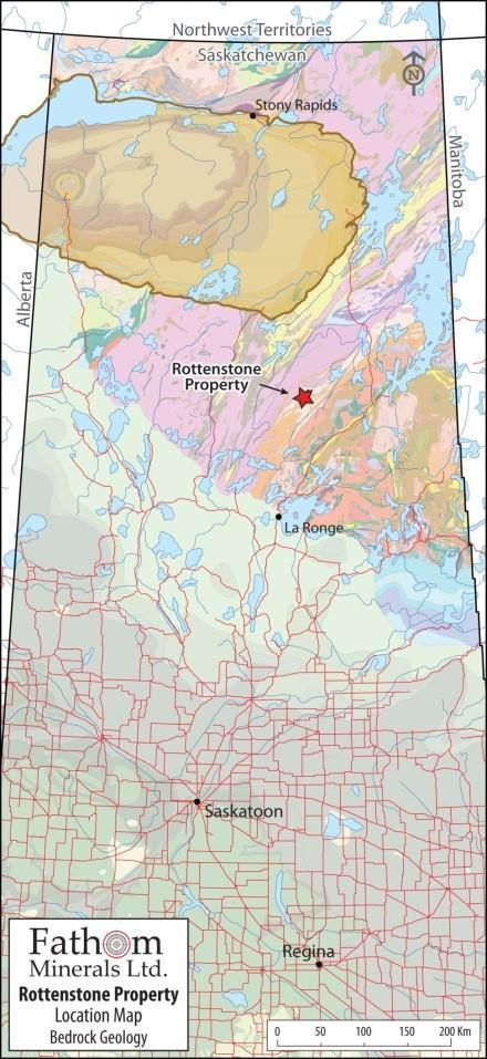 Mining Jurisdiction in the World Located 130 km North of La Ronge, northern SK