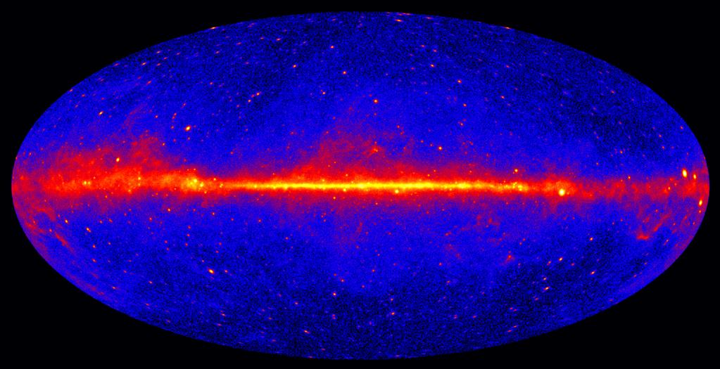 The GeV gamma-ray sky