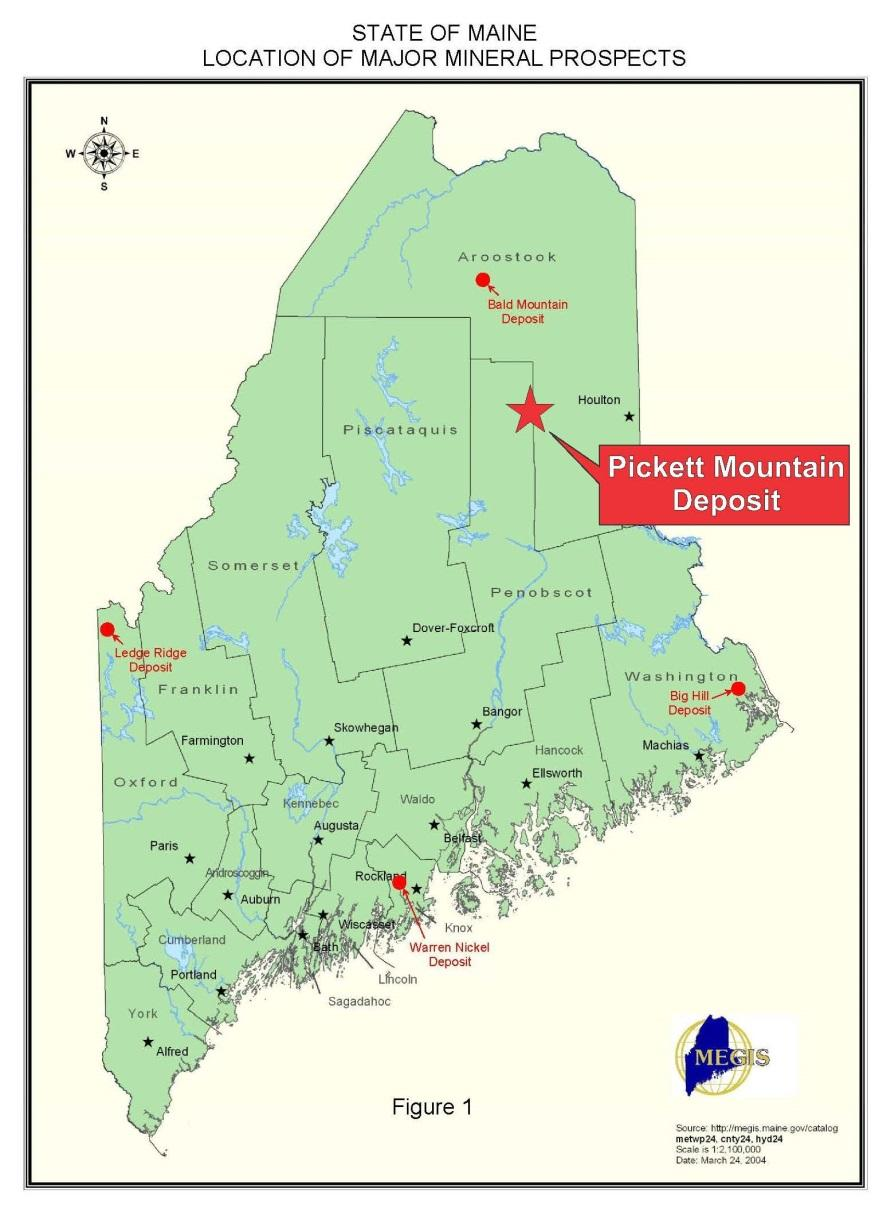 TSX-V:WLF Why Wolfden Is In Maine The last mining operation In Maine occurred in the 1970 s; mineral exploration in recent times has been absent Maine is extremely prospective given the mineral