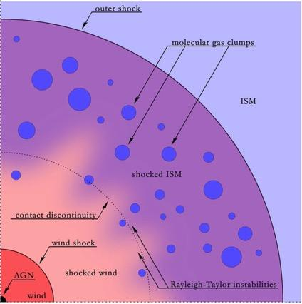 AGN feedback from accretion disk winds (Zubovas &