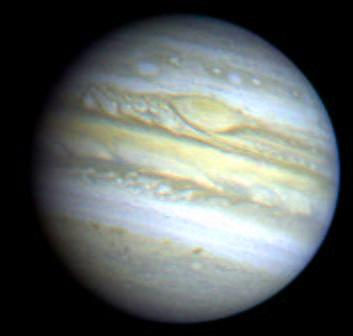 Jupiter Orbit, Rotation Physical Properties Atmosphere, surface Interior Magnetosphere Moons (Voyager 1) Jupiter is the third-brightest object in the night sky (after the Moon and Venus).