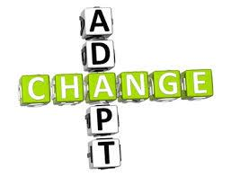 adapt: to change in