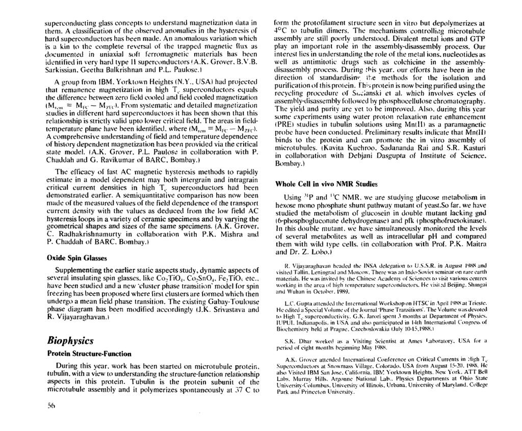 Annual Report Tata Institute Of Fundamental Research Pdf Pin 3d Plant Cell Diagram From Textbook Image Galleries Imagekbcom Superconducting Glass Concepts To Understand Magnetization Data In Them A Classification The Observed Anomalies