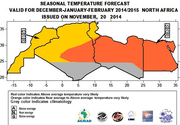 This outlook is produced at the regional scale. Thus, its interpretation should be for regional use.