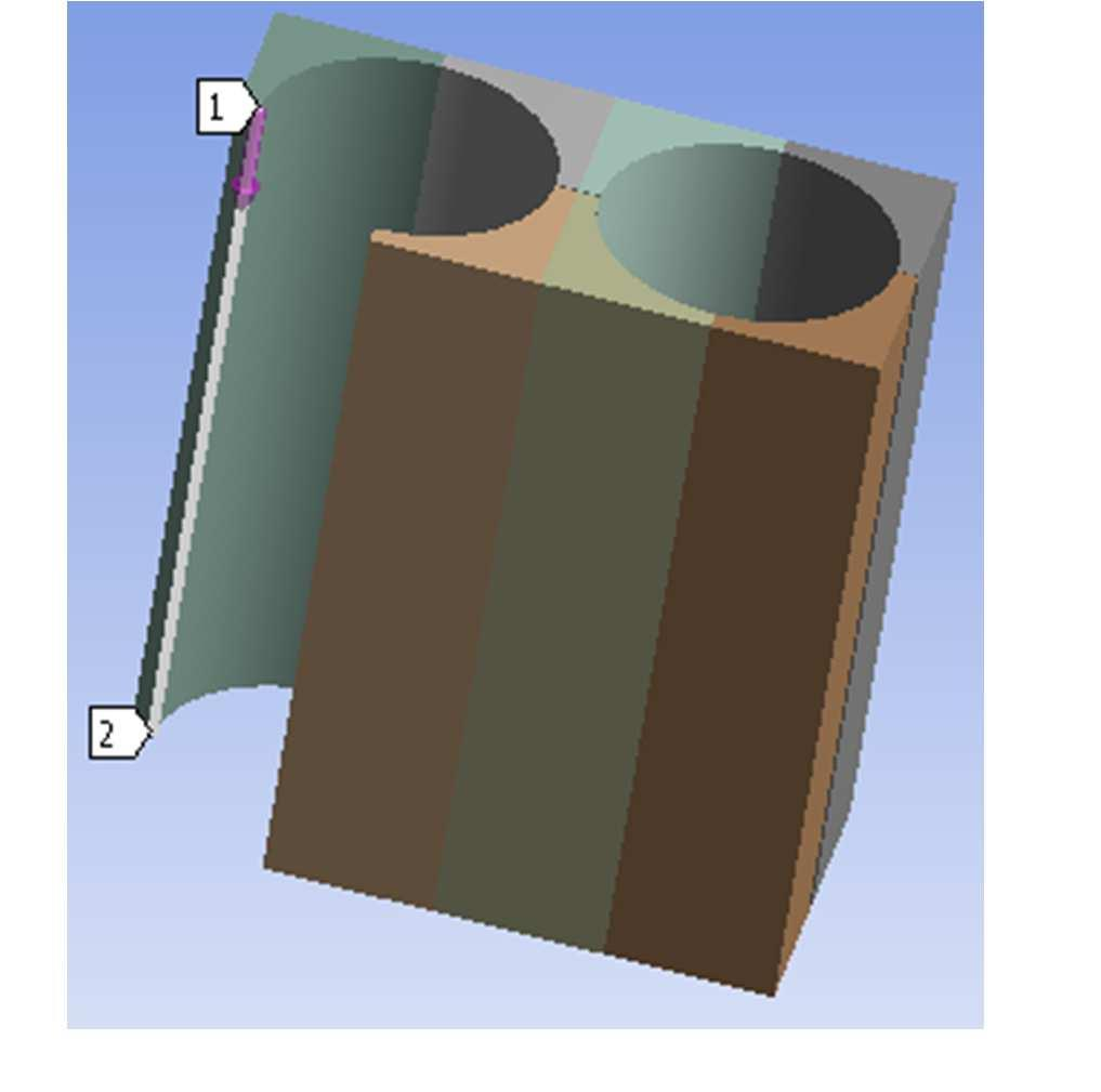 3 Results The finite element analyses are carried out using ANSYS Version 1.