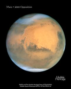 MARS Average temperature: -82F Density: 3.