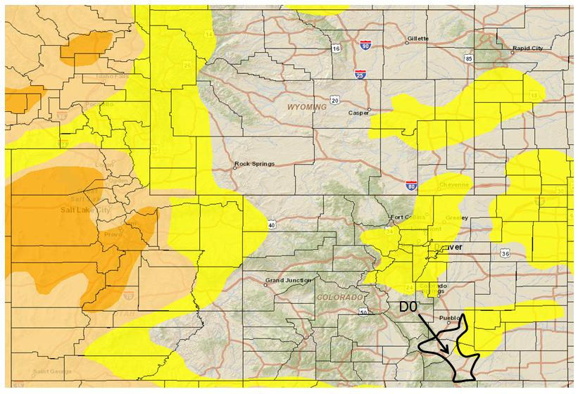 9/29/2015 NIDIS Drought and Water Assessment Summary for September 29, 2015: Precipitation, SPI, and VegDri products commonly used in the Colorado Climate Center's drought monitor process did not