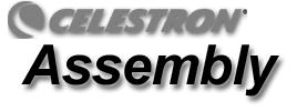 This section covers the assembly instructions for your Celestron Advanced Series Telescope (AST).