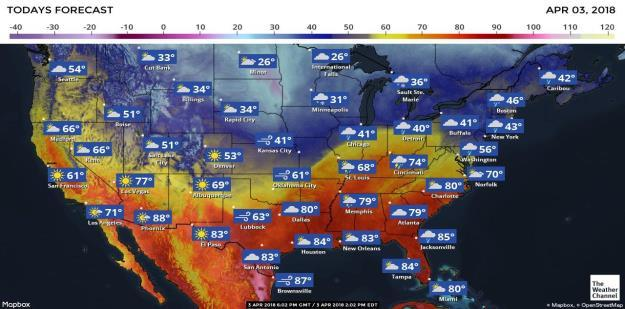 United States of America - Weather U.S. MIDWEST: The Midwest will see another ten days to two-weeks of poor conditions for planting.