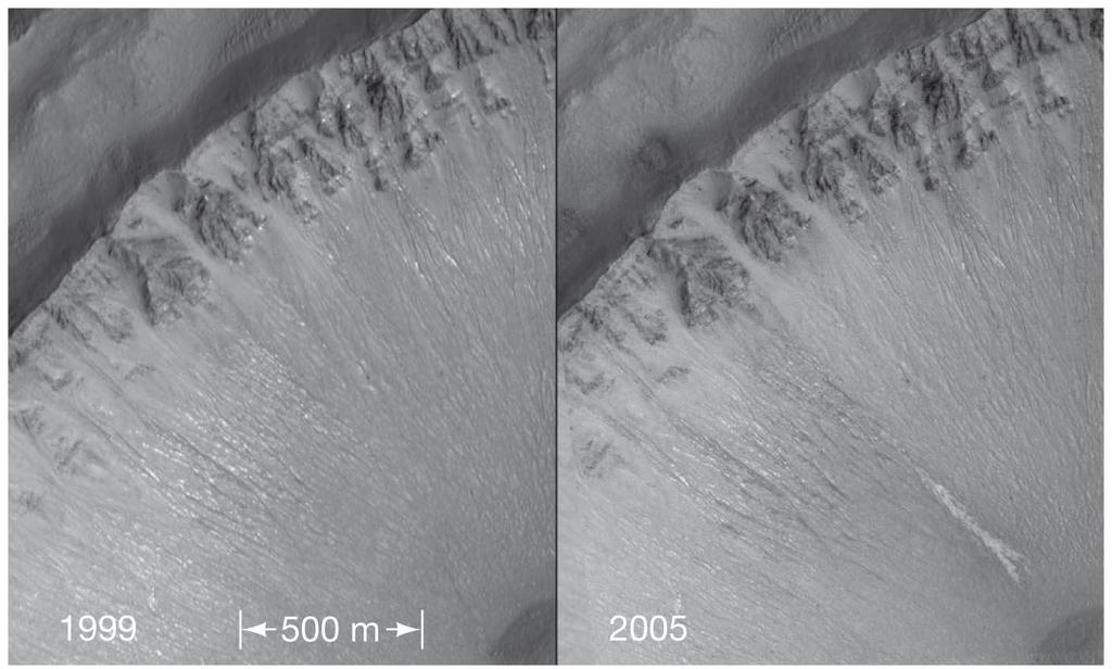 10.5 Water on Mars More intriguing, this pair of