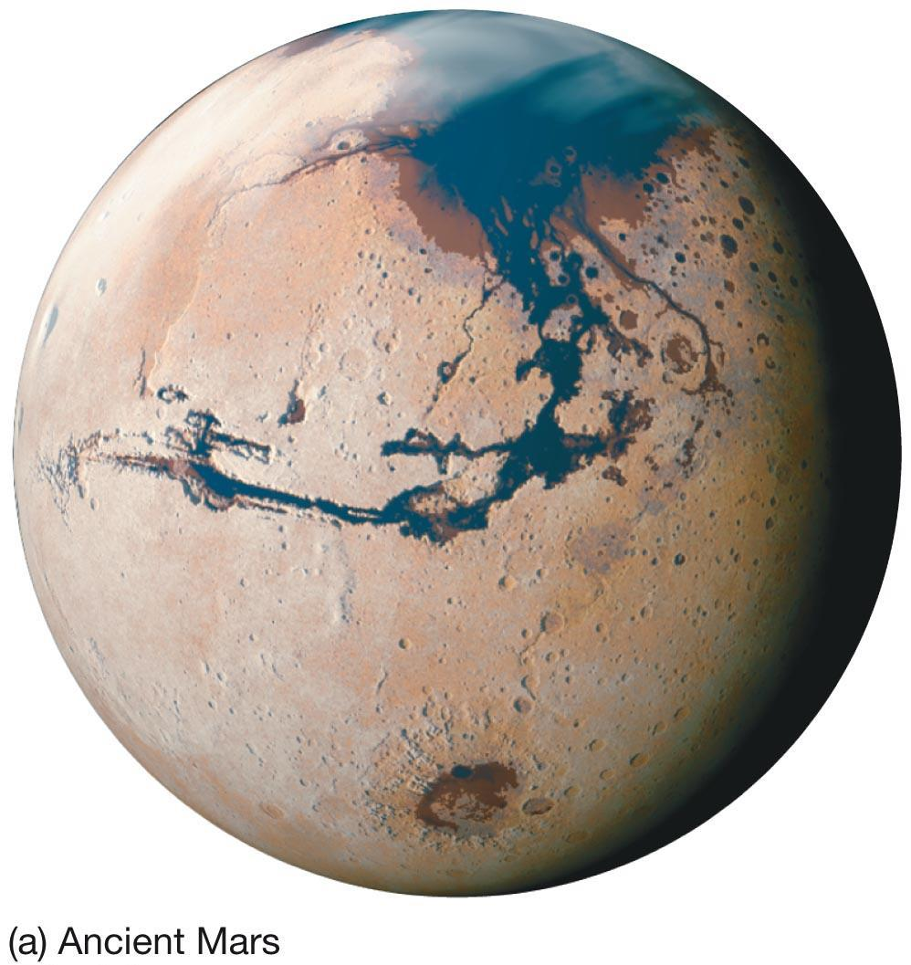 10.6 The Martian Atmosphere As a result, Mars may have had a