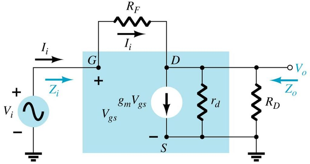 EMOS CS with feedback bias 66 AC equivalent circuit
