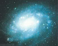 Flocculent (woolly) galaxies also have spiral patterns, but