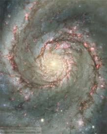 Grand-design galaxy M 51 (Whirlpool Galaxy): M 100 NGC 300