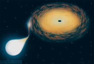 Compact Objects with Disks and Jets Black holes and neutron stars can be part of a binary system.