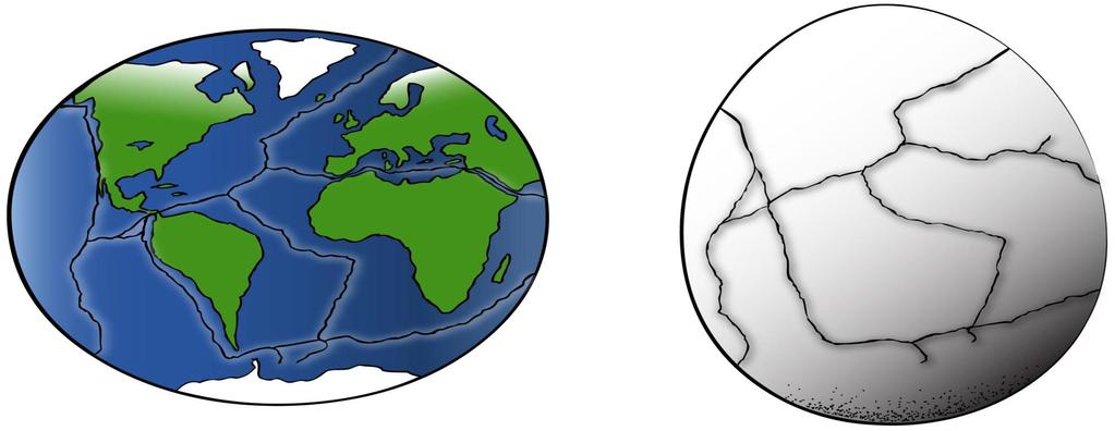 Plate Tectonics IDEA THAT EARTH S SURFACE IS BROKEN INTO PLATES THAT