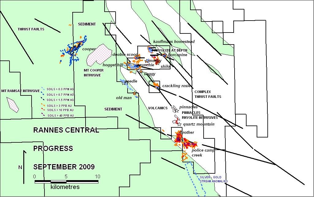 ASX Announcement 26 October 2009 Gold Exploration Update The Directors of D Aguilar Gold Limited (ASX Code: DGR) are pleased to provide the following update on the Rannes and Clermont gold