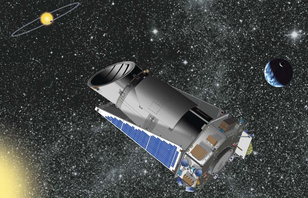Kepler is NASA s s first mission capable of finding Earth-