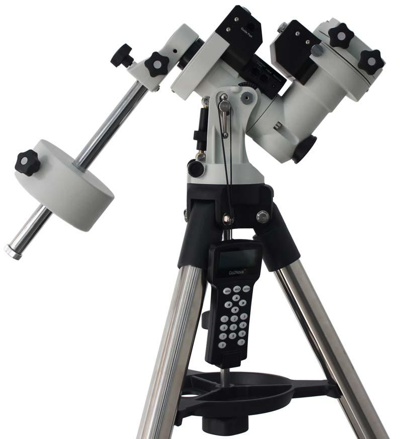 ioptron ZEQ25GT Balanced GoTo Equatorial Mount With Go2Nova 8408