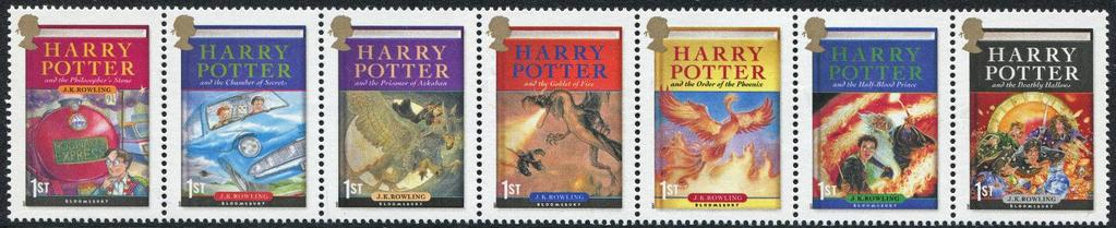 The Perforated Press The Harry Potter books have been a hit with young readers since their debut in 1997. Over 400 million copies have been sold worldwide and have been translated into 68 languages.