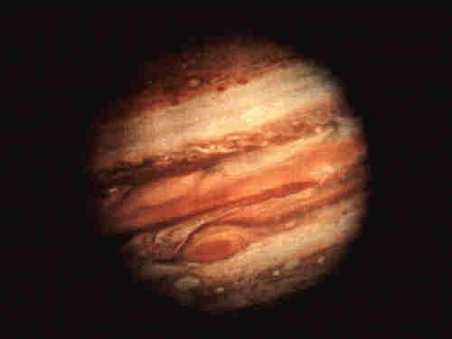 Jupiter is 20 mag fainter than the Sun The ratio in the near-infrared is better: A hot Jupiter has an effective T of 1000-1500 K, making it